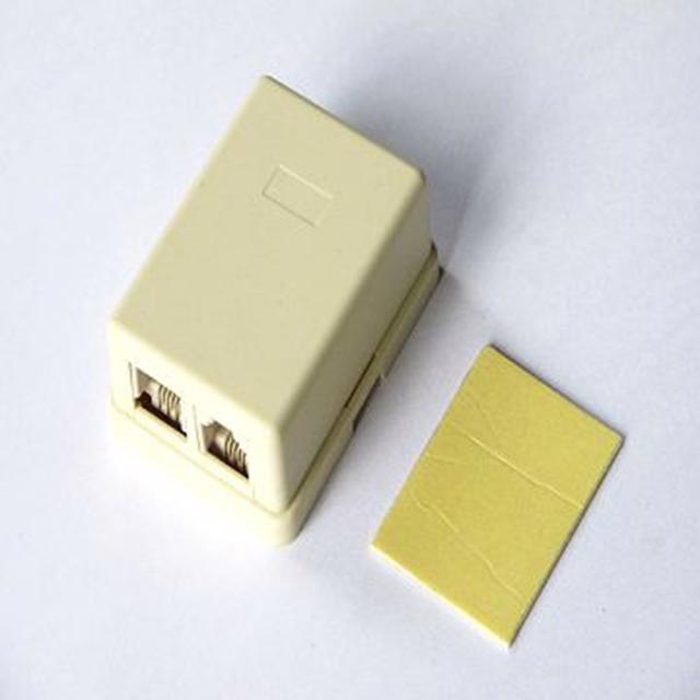 電話接線盒(雙孔)4C