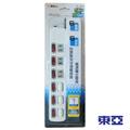 東亞 六開六插延長線TY-122N-6尺
