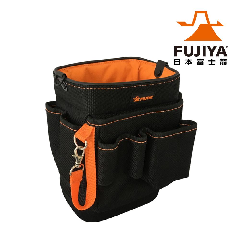 【日本Fujiya富士箭】尼龍腰間工具收納袋-標準款