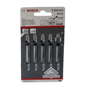 BOSCH木材及塑料線鋸片T101A0
