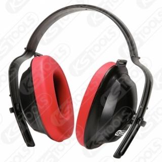 德國KS TOOLS 安全降噪軟墊頭帶耳罩 (紅) 310.0130