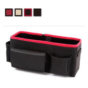Lestar 多功能皮革汽車椅背置物盒