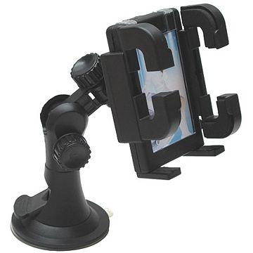 月陽車用PDA手機GPS萬用型強力吸盤固定架車架(80MM)
