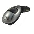 V7-車用FM轉播器(加贈多功能遙控器)-時尚銀
