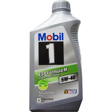 MOBIL 1  ESP Formula M 5W-40全合成機油(6入)