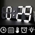 遙控式3D立體LED數字時鐘/鬧鐘(大款)