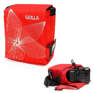 芬蘭Golla~輕便型相機攝影機收納包SKY。紅