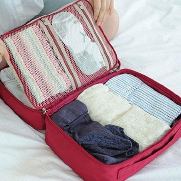 DINIWELL 新版手提衣物旅行整理收納包-M號