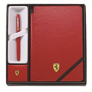 CROSS法拉利Century II紅鋼珠筆及法拉利紅筆記本FR0085-120/2M