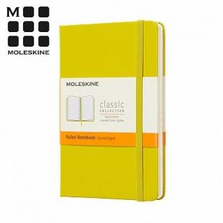 MOLESKINE 春夏系列經典硬殼筆記本 (口袋型) -蒲公英黃橫線