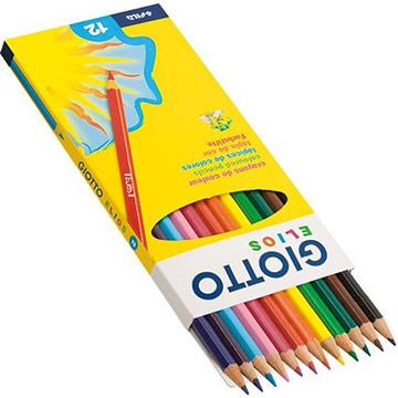【義大利GIOTTO】Elios 學用六角彩色鉛筆(12色)