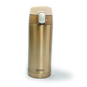 AWANA-附扣彈跳杯200ml(香檳金)