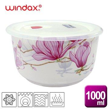 《WINDAX》木棉花陶瓷微波碗(1000ml)