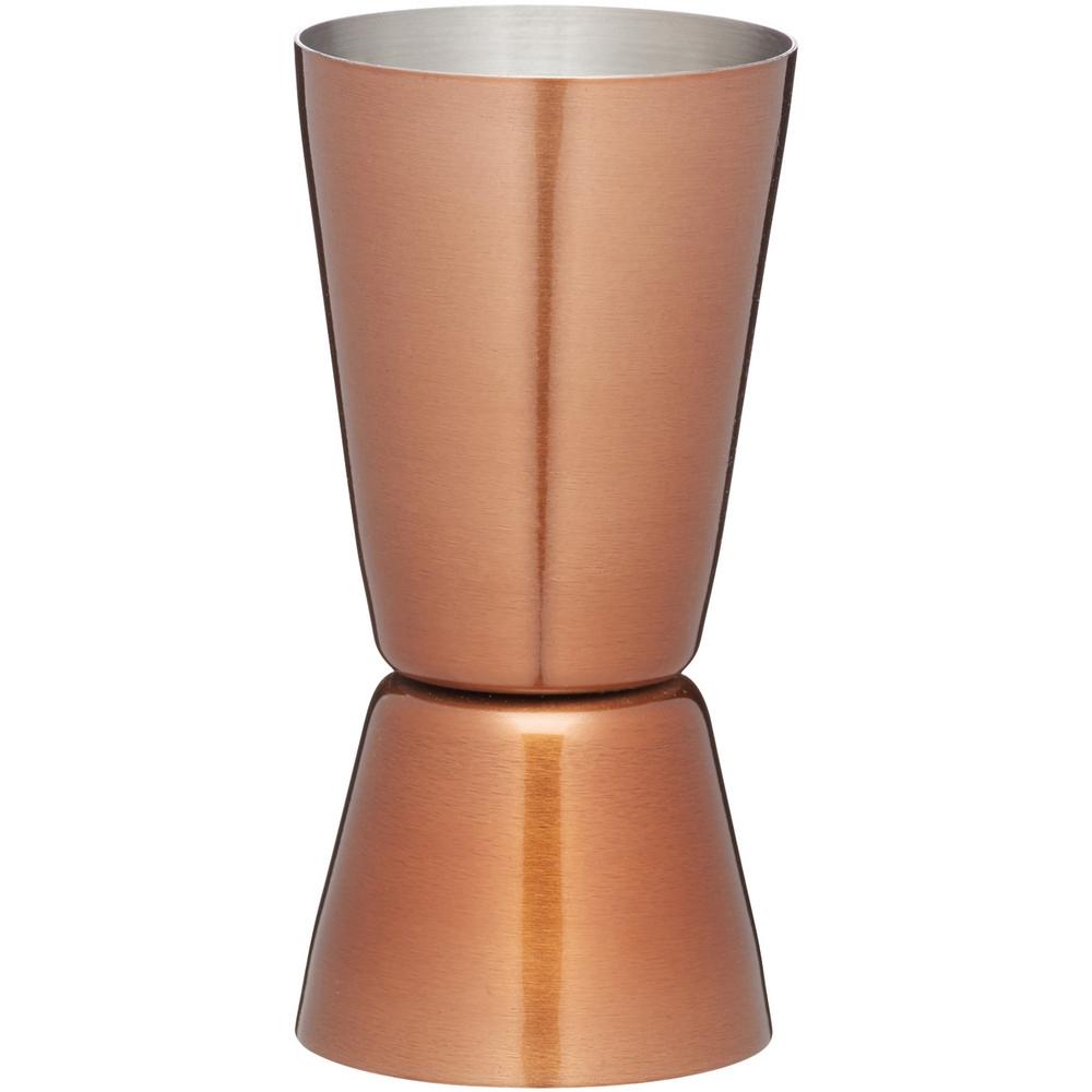 KitchenCraft 銅面不鏽鋼調酒量杯