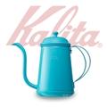 KALITA 不銹鋼烤漆藍綠色手沖壺/細口壺 700ML #52196