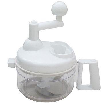 月陽多功能旋轉不鏽鋼刀片切肉切菜器蔬果洗滌器攪拌器(RS-585)