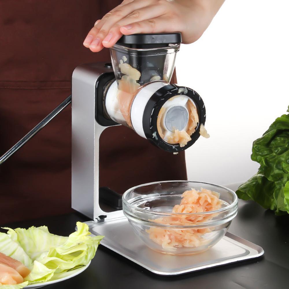 PUSH!廚房用品灌香腸臘腸機絞肉機小型碎肉器廚房工具手動家用D137