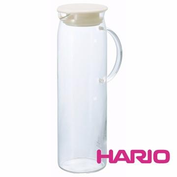 HARIO 米白把手冷水壺1000ml HDP-10PW