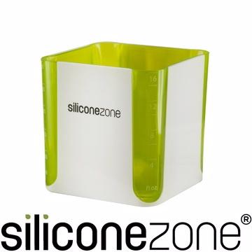 【Siliconezone】施理康方形計量杯-綠色