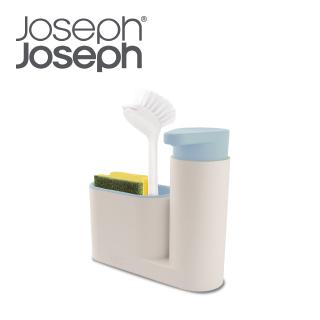 Joseph Joseph 流理台清潔收納小幫手兩件組(灰藍)