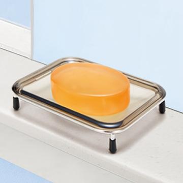 日本ASVEL不鏽鋼方型肥皂架