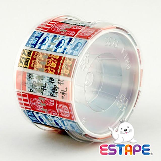 【王佳Seal King】易撕貼ESTAPE (抽取式OPP膠帶/和風版)