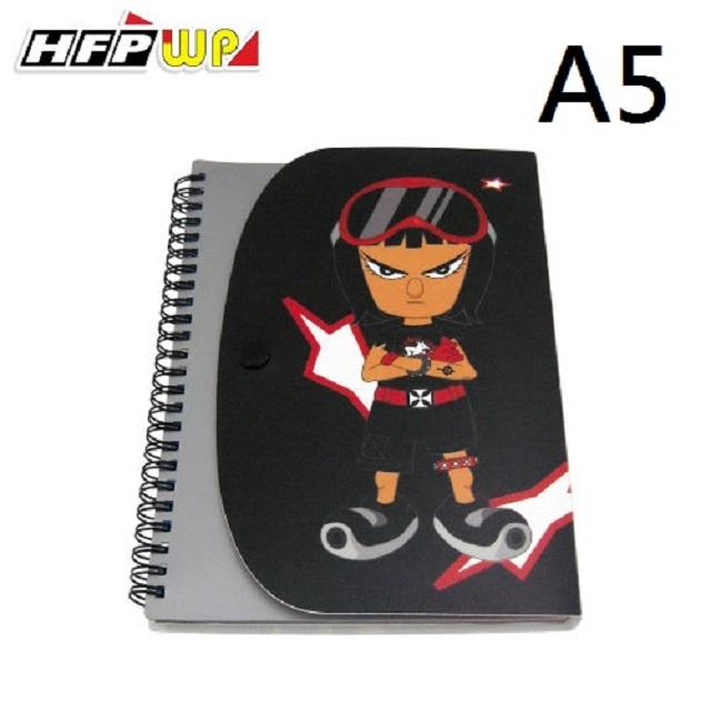 HFPWP名師設計精品酷小子筆記本(A5)CONA5