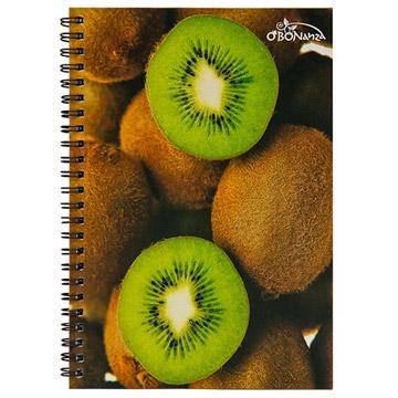 美國O'BON 環保甘蔗筆記本/A5/水果系列/Kiwi