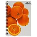美國O'BON環保甘蔗筆記本/A6/水果系列/Orange