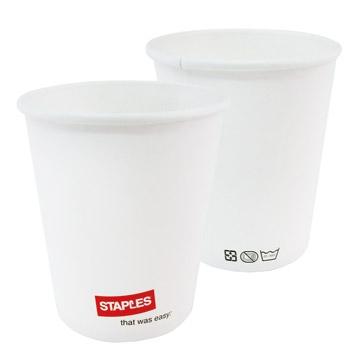 STAPLES高級冷熱飲紙杯200cc/50個/串/2串/組