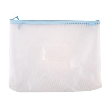 COX環保立體網狀拉鍊袋/A4/964H/附名片袋/混色出貨