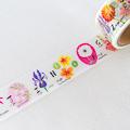 Aimez le style 和紙膠帶 - Alphabet Flowers ( Jan5359 )