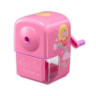 【雄獅】PS-405 奶油獅自排式削鉛筆機(粉色)