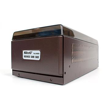 【KW-triO】名片盒(600片)-棕