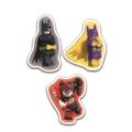 LEGO蝙蝠俠電影-造型橡皮擦(3入)(蝙蝠俠 / 羅賓 / 小丑)