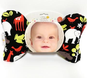 美國製 Baby Elephant Ears 蝴蝶枕-紅動物園