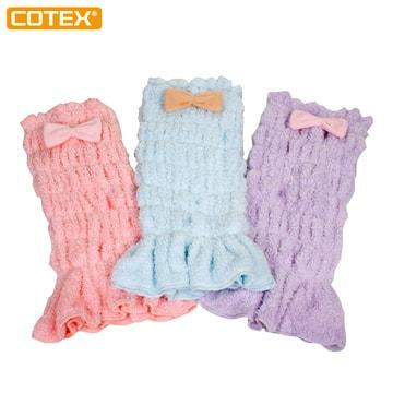 COTEX安穩肚圍包巾