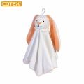 COTEX長耳兔安撫巾 情緒安撫/親子互動/床邊吊飾/擦汗/擦口水