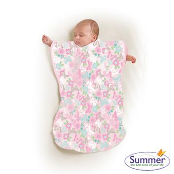美國 Summer infant 小蝴蝶背心睡袋 - 蝴蝶花園