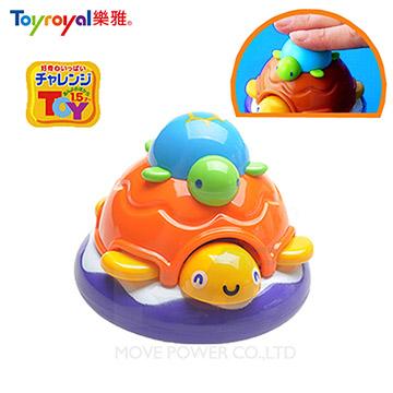 樂雅 洗澡玩具-烏龜