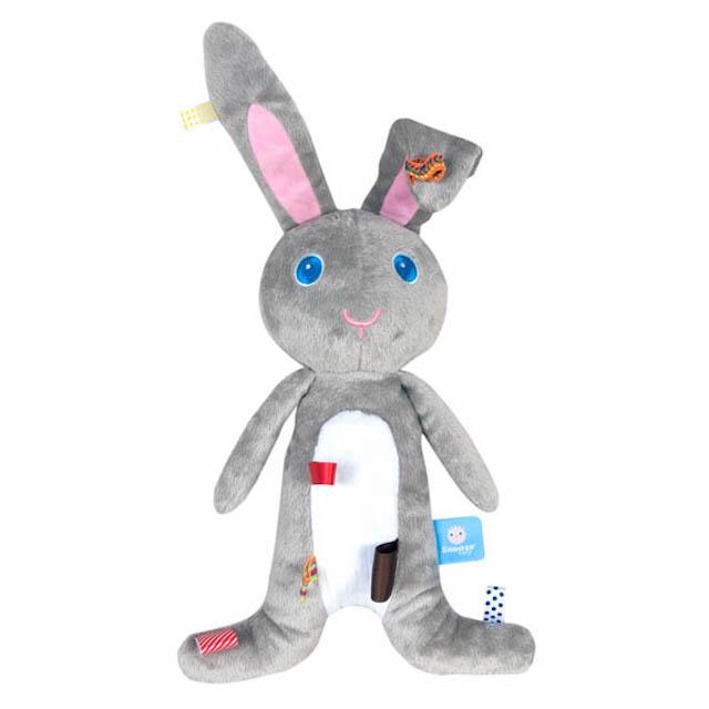 荷蘭Snoozebaby小兔Moochi布標安撫玩偶