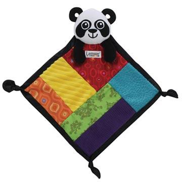 Lamaze拉梅茲嬰幼兒玩具 - PANDA小手帕