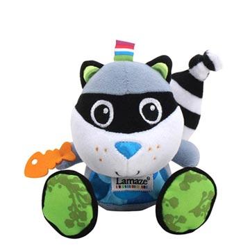 Lamaze拉梅茲嬰幼兒玩具 - 可愛小浣熊