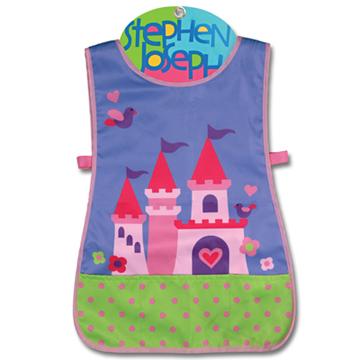 美國Stephen Joseph - 童趣造型防水圍裙 (公主城堡)