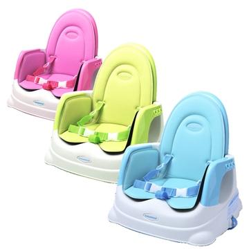 babyhood 咕咕兒童折疊餐椅座墊 豪華組 粉紅