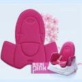 babyhood 咕咕兒童折疊餐椅透氣坐墊 粉紅