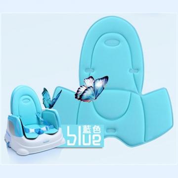 babyhood 咕咕兒童折疊餐椅透氣坐墊 藍色