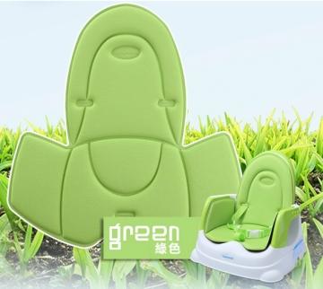 babyhood 咕咕兒童折疊餐椅透氣坐墊 綠色