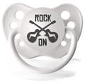 美國 Ulubulu 安撫奶嘴 - 雪白 Rock On Guitar 搖滾吉他