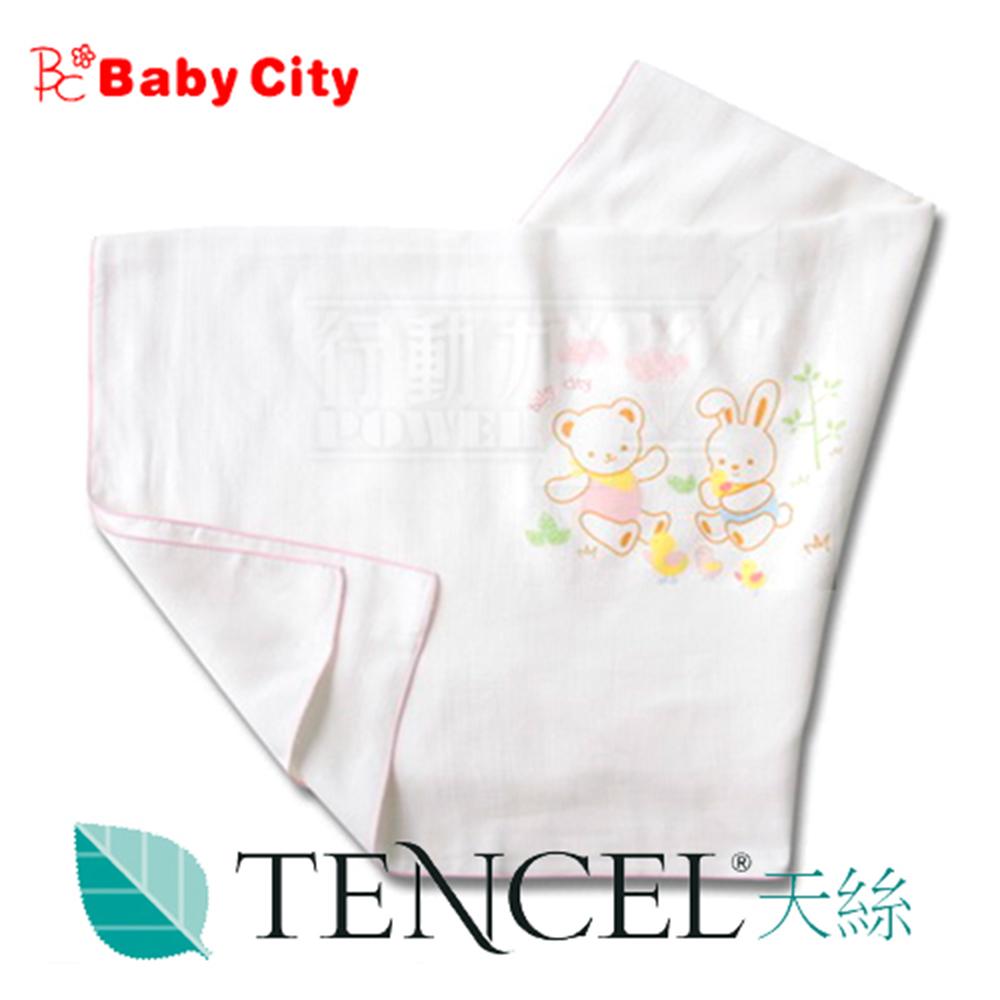 娃娃城BabyCity-天絲棉紗布浴巾